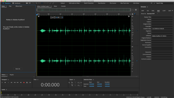 adobe audition dip ses kaldırma deep sound cleaning